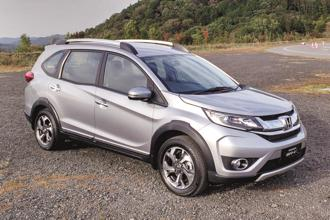 Honda HR-V, or the Vezel, will add to Honda's SUV arsenal in India, joining the WR-V, BR-V (in photo) and CR-V models.