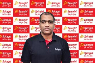 SpiceJet's chief financial officer (CFO) Kiran Koteshwar.