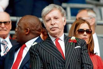 English football club Arsenal's US owner Stan Kroenke. Photo: AFP.