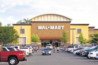 Walmart has been refocusing on areas with big growth potential such as India and China. Photo: iStock