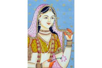 Jodha Bai , the royal figure who is conspicuous by her absence from Ira Mukhoty's book. Photo: Alamy