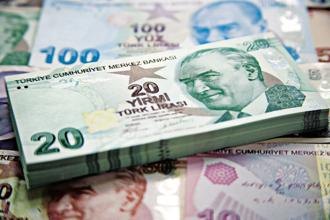 In the roughly 18 months since Donald Trump was elected US president, the Turkish lira has lost half its value, hitting a level of 7 TRY to $1 last week. Photo: Bloomberg