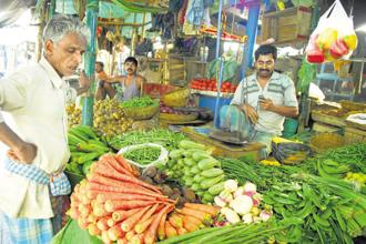 Between January 2014 and August 2017, the price of nutritious food such as vegetables and fruits have risen the most in India. Photo: Mint