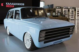 CV-1 can travel 350 kilometres on one charge, according to holding company Kalashnikov Concern said