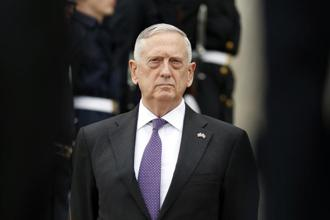 A file photo of US Defence Secretary Jim Mattis. Photo: AP