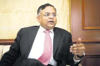 Tata Sons chairman N. Chandrasekaran using proceeds from the TCS share buyback to cut debt is seen as an attempt towards making the group more agile, but this also shows the conglomerate's over-dependence on the IT bellwether. Photo: Aniruddha Chowdhury/Mint