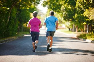 The WHO defines enough exercise as at least 75 minutes of vigorous activity or 150 minutes of moderately intense activity per week, or any combination of the two. Photo: iStock