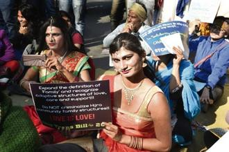 The transgender community hailed the SC verdict as 'a huge step forward'.