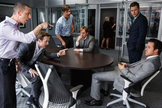 A heated exchange from Adam McKay's 'The Big Short'.