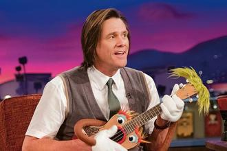A still from 'Kidding', starring Jim Carrey as the television personality Jeff Piccirillo.