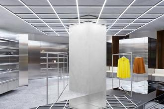 Interiors of NK, Stockholm, a leading department store in the city. Photo courtesy: Acne Studios