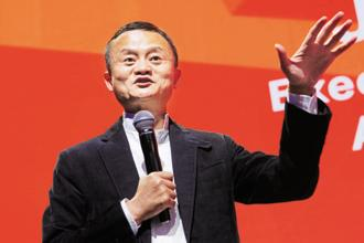 Alibaba was founded by 18 people led by Jack Ma in 1999. Photo: Reuters
