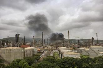 Last month, BPCL's Mumbai refinery witnessed a fire accident, leading to a loss of about Rs 97 crore for the company. Photo: Mint