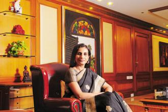 ICICI Bank CEO Chanda Kochhar. Photo: Mint
