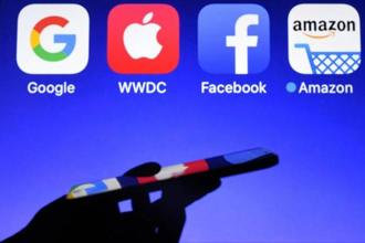 The parliament's vote comes amid a broader push by legislators in Europe and the US to make tech platforms more legally liable for what appears on their sites. Photo: AFP