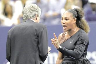 Serena Williams' behaviour, aggressive or not, was seen by most as not displaying sportsmanship. Similarly, corporates also have rules of behaviour. Photo: AFP