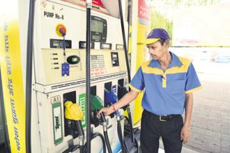 The prices of petrol and diesel vary by as much as Rs 20 in between Maharashtra and the Andaman and Nicobar Islands. The Union Territory levies only 6% VAT on both fuels, making it the cheapest across India. Photo: PTI