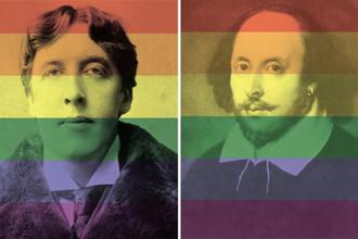 Oscar Wilde's (left) trial served as a turning point for anti-LGBTQ+ laws; and William Shakespeare, a favourite among jurors.