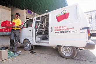 The proposed deal involves BigBasket acquiring Grofers, its smaller rival in the online groceries space. Photo: Aniruddha Chowdhury/Mint