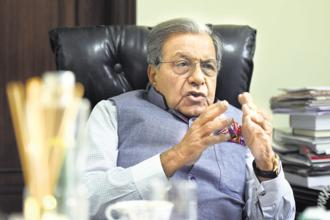 15th Finance Commission chairman N.K. Singh. Photo: HT