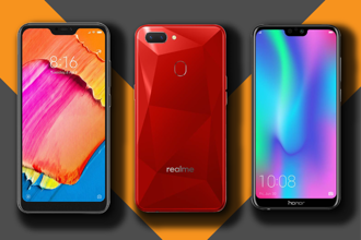 You have a considerable variety of textures, colours and materials when it comes to smartphone design at this price point.