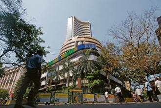 Market benchmark BSE Sensex on Tuesday tumbled by about 295 points or 0.78% to close at 37,290.67 due to increasing crude oil prices and mounting trade tension. Photo: Mint