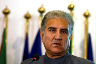 Pakistan's foreign minister Shah Mehmood Qureshi. Photo: Reuters