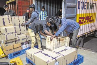The provisions for tax collected or deducted at source was kept in abeyance in the GST regime so far in order to give relief to businesses. Photo: Bloomberg