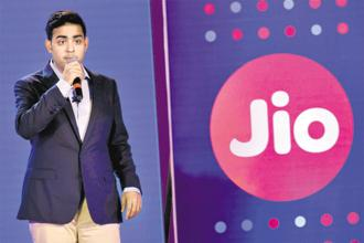 Reliance Jio director Akash Ambani. Reliance Jio is betting big on the content space by making strategic acquisitions and partnerships. Photo: PTI