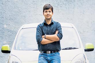 Ola founder and CEO, Bhavish Aggarwal. Ola needs to attract new investors if it wants to avoid raising more capital from SoftBank.