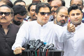 Pakistan Prime Minister Imran Khan. Photo: PTI
