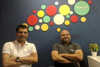 Stanza Living co-founders Sandeep Dalmia (left) and Anindya Dutta.