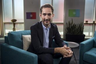Instagram's Kevin Systrom. Photo: Bloomberg