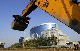 Infra lender IL&FS is struggling to service $12.6 billion in debt. Photo: Bloomberg