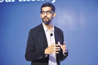 Google has repeatedly denied accusations of bias, and the firm's chief executive officer (CEO), Sundar Pichai, has agreed to testify before the US House Judiciary Committee later this year. Photo: Pradeep Gaur/Mint
