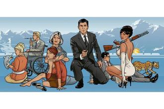 The leading man in spy comedy 'Archer' is in a coma, but that doesn't get in the way of the increasingly inventive adventures.