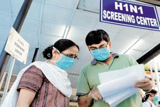 According to government data, 2009 was one of the worst years as H1N1 had affected 1,799 people and claimed 135 lives. Photo: PTI