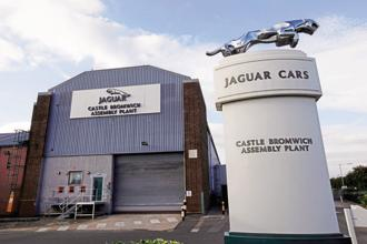JLR reported retail sales at 57,114 units in September, down 12.3% from a year ago. Photo: Reuters