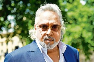 A file photo of fugitive liquor baron Vijay Mallya. Photo: Reuters