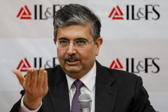 Uday Kotak, newly appointed Non-Executive Chairman of Infrastructure Leasing and Financial Services Ltd. (IL&FS). Photo: Reuters
