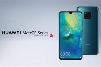 Huawei Mate 20 lineup consists of a radial camera setup with three cameras sitting inside a square module, and a flash completing the four corners of it