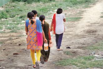 The risks associated with open defecation in India are not just restricted to diseases. Rapes occur when women and young girls are on their way to fields to defecate at night. Photo: Mint