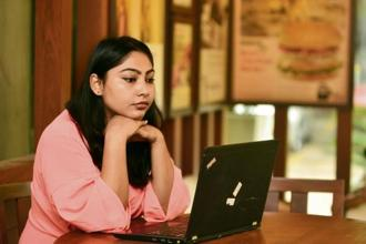 Aparajita Rao balances her career as a corporate trainer and an entrepreneur running an event planning venture, with ease. Ramesh Pathania/Mint