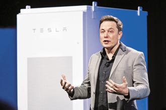 A file photo of Tesla CEO Elon Musk. Photo: Bloomberg