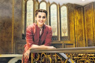 Taapsee Pannu has a clean image with no controversies, making her appealing to a wider fan base. Photo: HT