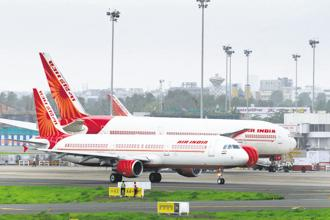 Air India expects to mop up ₹500 crore through short-term borrowings next week. Photo: Abhijit Bhatlekar/Mint