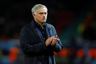 Manchester United manager Jose Mourinho. File Photo: Reuters