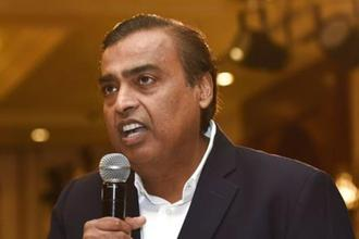 Reliance Industries chairman Mukesh Ambani. Photo: PTI