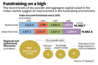 The levels of investible capital available with private investors are at a record high. Graphic: Mint