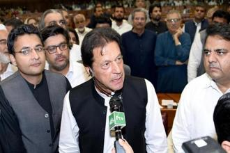 Pakistan Prime Minister Imran Khan. Photo: Reuters